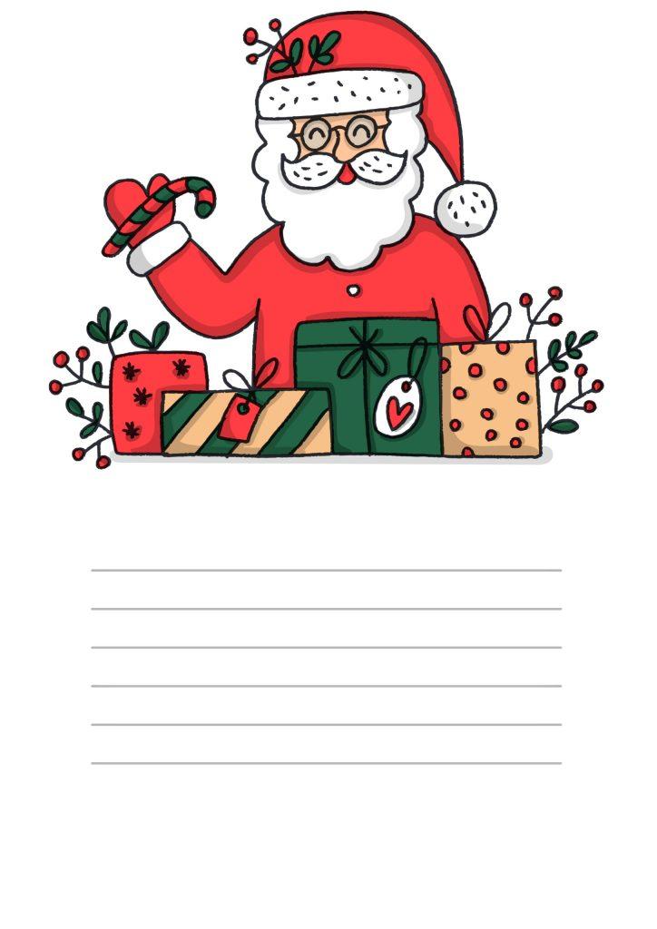 Lettera a Babbo Natale con gli occhiali