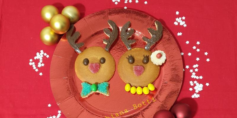 Renne di Babbo Natale con i pancake