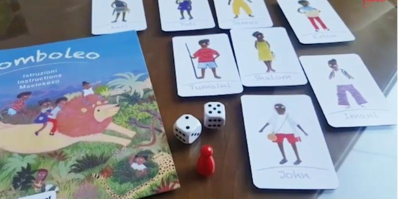 Komboleo il gioco da tavolo di Amref