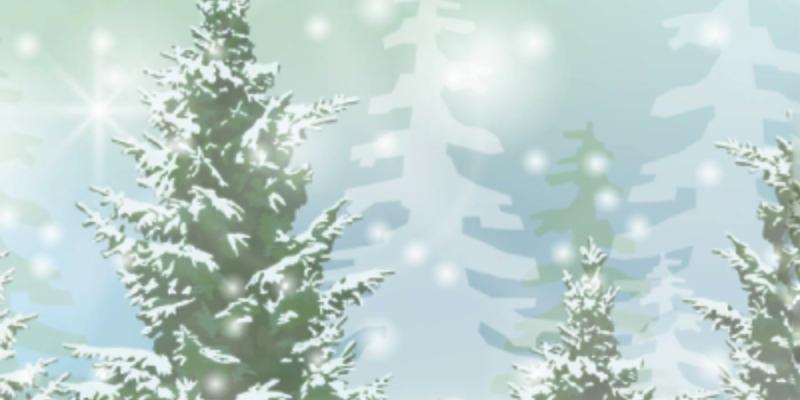il primo albero di Natale Erman Lons