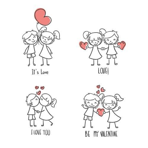 bambini innamorati san valentino - la scatola dei giochi