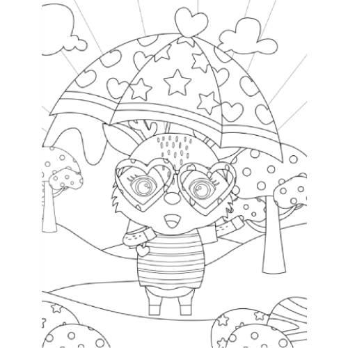bufalino con ombrello san valentino - la scatola dei giochi