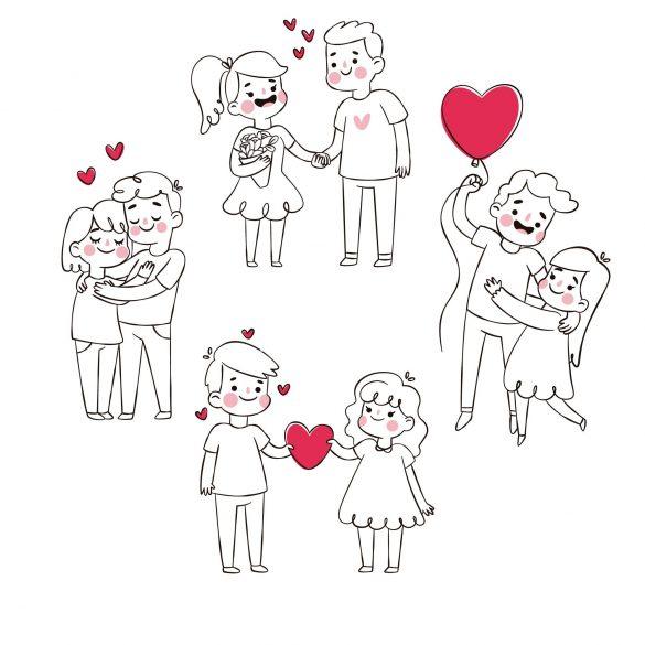 coppie fidanzate san valentino - la scatola dei giochi
