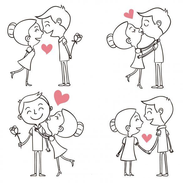 coppie innamorate san valentino - la scatola dei giochi