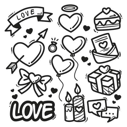 elementi di san valentino - la scatola dei giochi