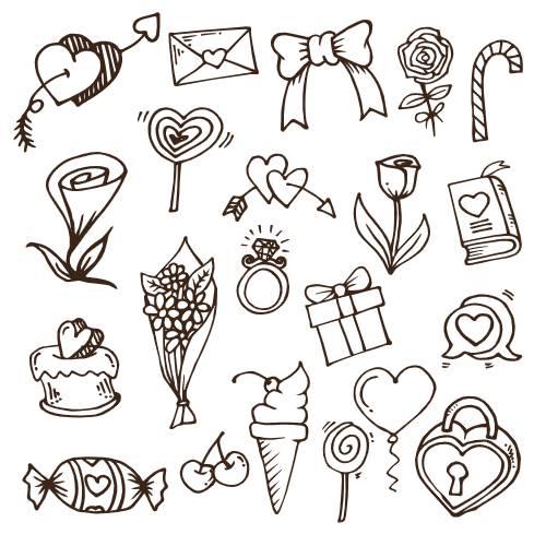 icone per san valentino - la scatola dei giochi