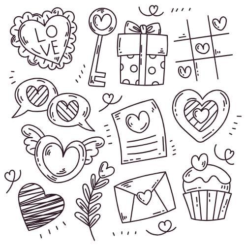 icone san valentino - la scatola dei giochi