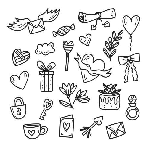 icone varie san valentino - la scatola dei giochi