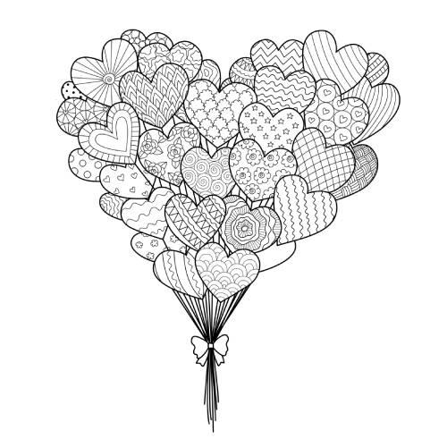 palloncini di cuori san valentino - la scatola dei giochi