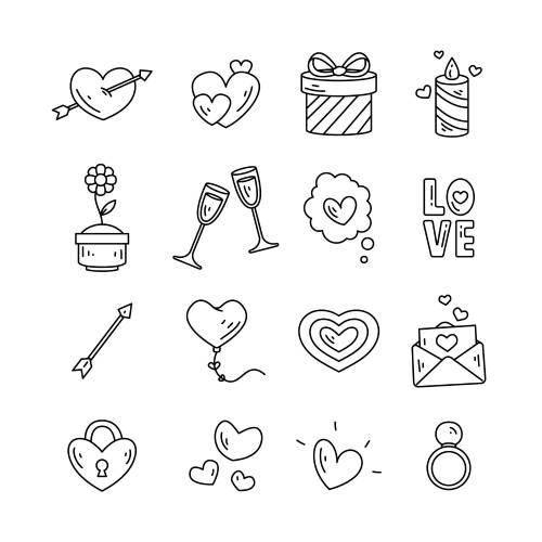san valentino icone - la scatola dei giochi