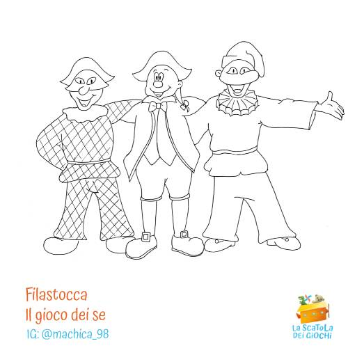 Filastrocca di Carnevale - Il gioco dei se di Gianni Rodari