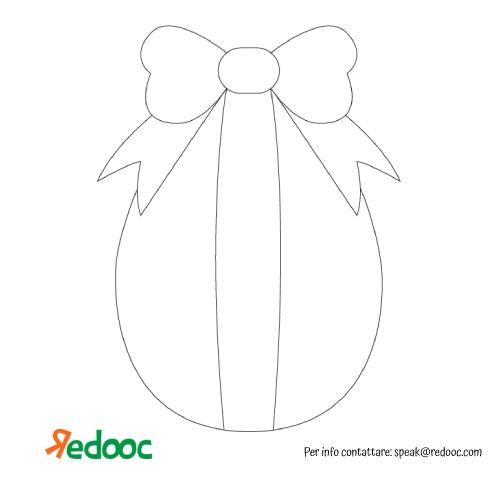La scatola dei giochi - uovo con fiocco Reedoc.com
