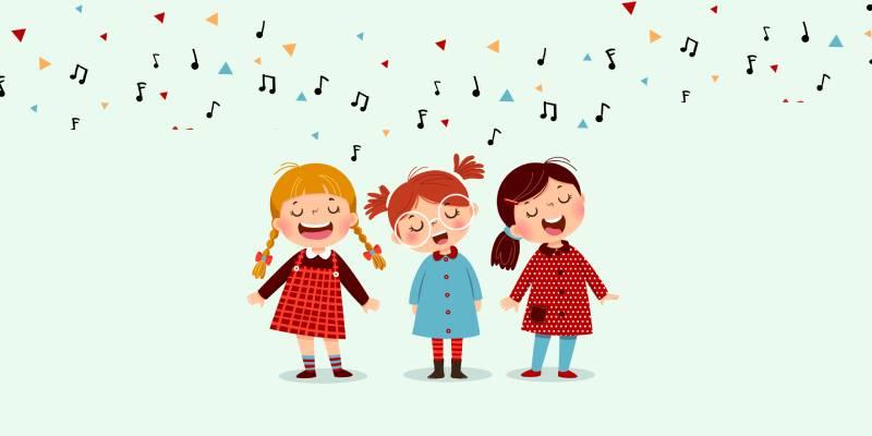 La voce il primo strumento musicale per i bambini